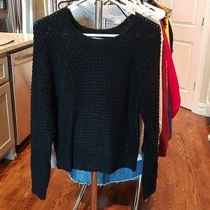 Black LA Hearts Medium Sweater